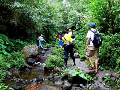 Trekking and campsite near Mumbai